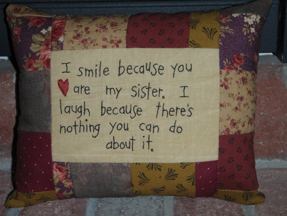 Smile Sister Pillow