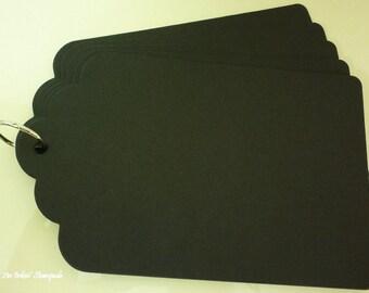 Chipboard Album-Tag Black