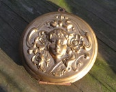 Vintage Art Deco Mucha Inspired Goddess Locket - 56mm