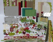 Mistletoe Christmas Mini Album Kit