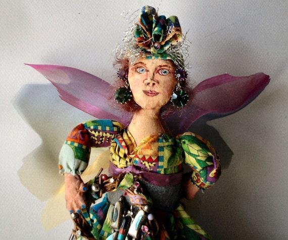 art doll Angel - Mataleena the Gypsy Queen