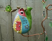 Hanging Dew Drop Fairy House