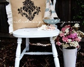 French Burlap Shabby Chic Inspired Outdoor Ruffles Cushion Cover Listing 4
