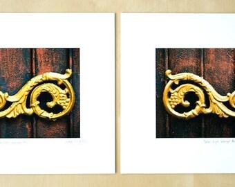Detail-Right, Seminyak, Bali matted print