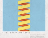 FUNDAMENTAL FORCES / Electromagnetic / (11.5 X 11.5 inches)
