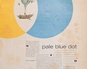 Pale Blue Dot Poster (11x17 inches)