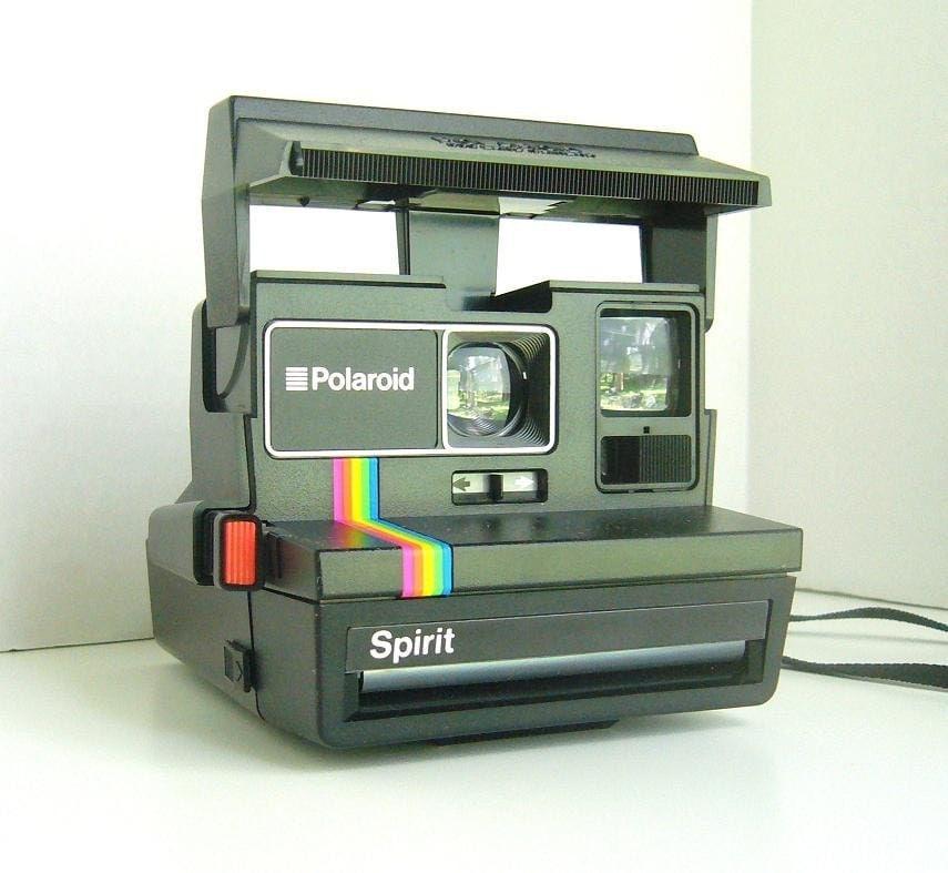 vintage polaroid spirit 600 land camera. Black Bedroom Furniture Sets. Home Design Ideas