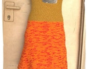 sale - amazing twiggy jumper dress