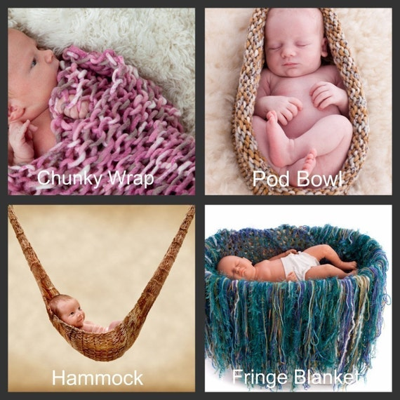 Photography Prop KNITTING PATTERNS, Baby Photography Prop Knitting Pattern eB...