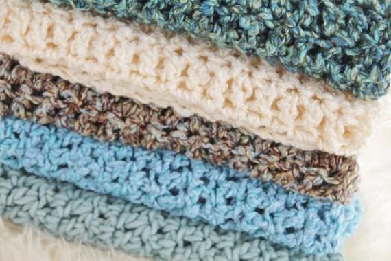 Mini Crochet Baby Blanket Pattern : Basket Liner Crocheting Pattern Baby Photo Prop Chunky Mini