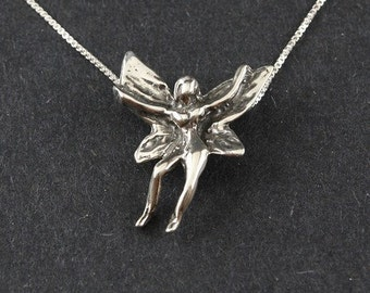Summer Faerie Sterling Silver on Box Chain