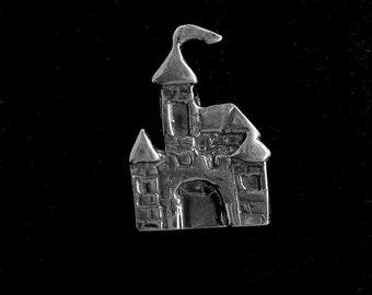 Castle Sterling Silver Fairytale Necklace