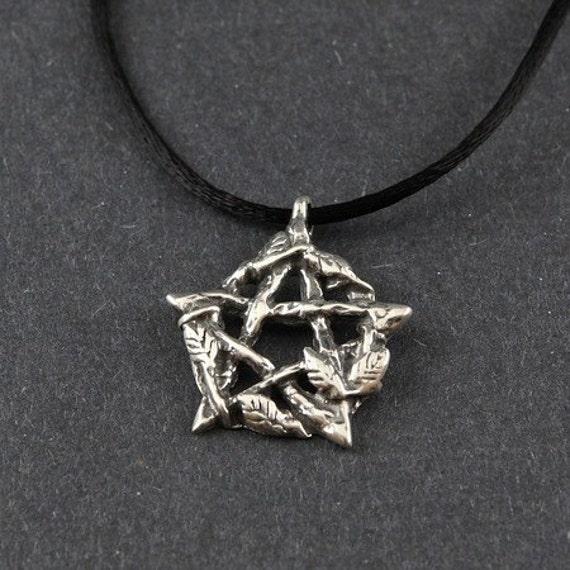 Pentacle Sterling Silver Persephone's Pentacle