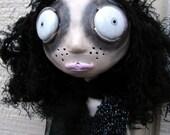 Art Doll Ornie - Esmeralda Kitty Cat - SALE