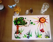 Laminated Meadow Placemat