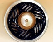 Vintage Button Brooch - Pinwheel