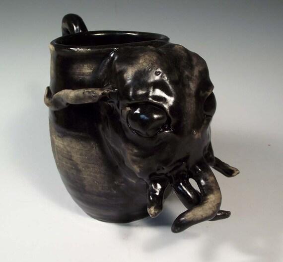 Cthulhu Mug - Creepy Fantasy Monster by Lovecraft