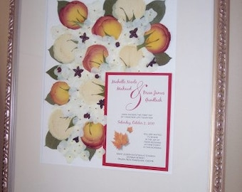 Bridal Bouquet with Invitation