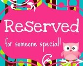 Reserved for Shannon -Large Blocks - Mia Collection - Minnie Mouse - Personalized Blocks - Baby - Teacher - Classroom Decor - Baby Shower