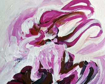 A Swirl of Silks -  Original Painting 10x 8 Inches