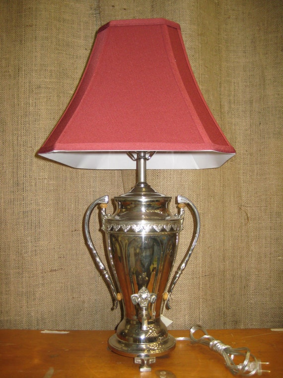 Coffee Urn Lamp