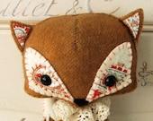 Woodland Fox PDF Pattern