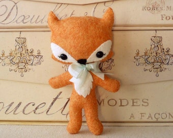Tag-Along Fox pdf Pattern - Instant Download