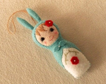 Babushka Bunny pdf Pattern - Instant Download