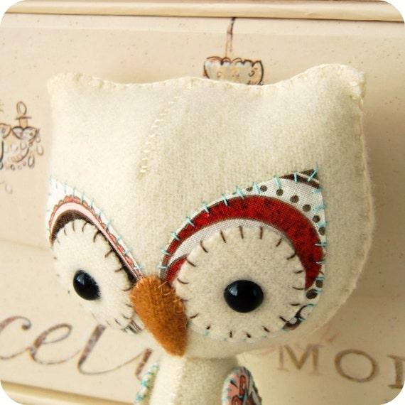 Woodland Owl PDF Pattern