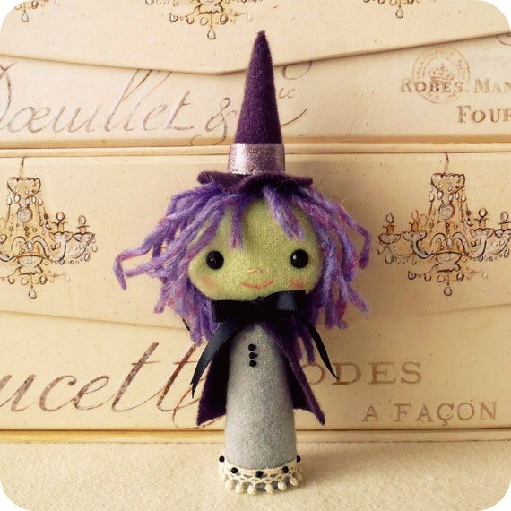Halloween Witch Ornament PDF Pattern