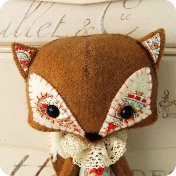 Woodland Fox pdf Pattern - Instant Download