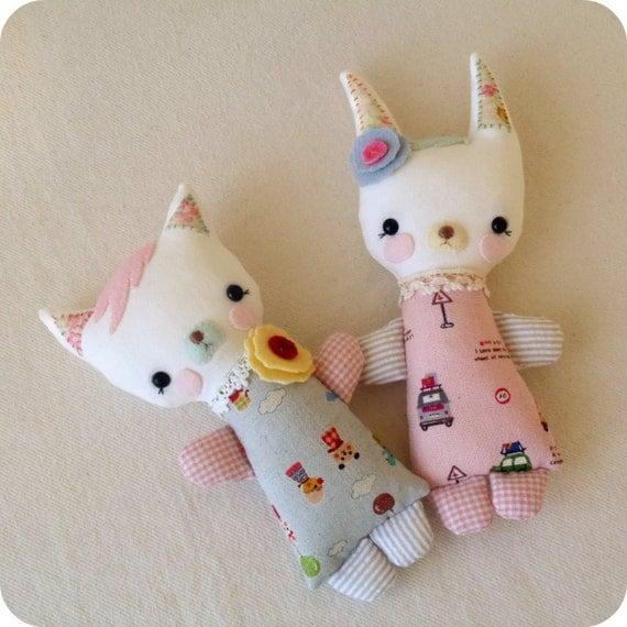 Cuddle Stufflings - Girls pdf Pattern