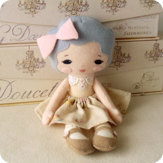 Sweetie Pie Doll pdf Pattern