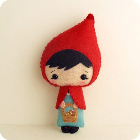 Little Red Riding Hood pdf Pattern