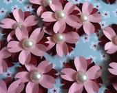 Set of (6) Cherry Blossom Paper Flowers