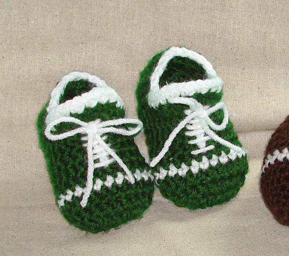 Baby Football Booties And Toy Football