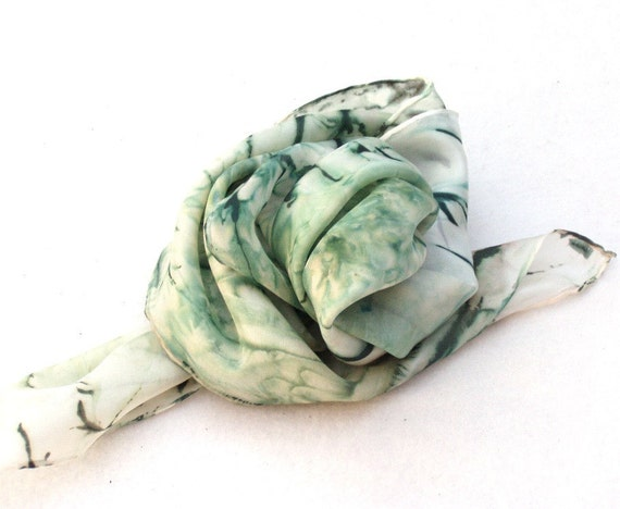 Scarab - hand painted fashion silk shawl kerchief mufflers
