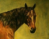 Custom horse portrait - commission a likeness of your horse.