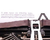 Typewriter Ribbon Purple Twin Spool Universal Colored typewriter ribbon