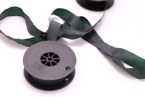 Typewriter Ribbon Green Twin Spool Universal Colored typewriter ribbon