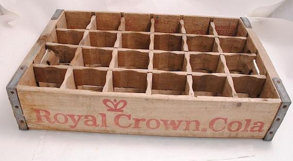 Vintage Royal Crown Cola Crate