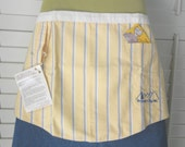 Cafe apron recycled from famous maker Oxford