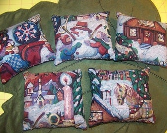 Christmas Pillow Bowl Fillers Ornies