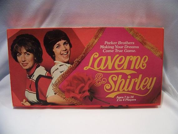 Vintage 1977 Parker Brothers Laverne and Shirley Board Game