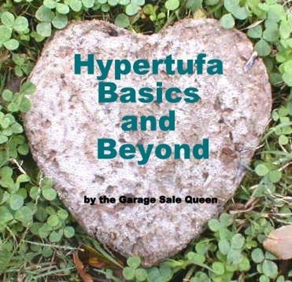 Hypertufa DIY ebook for garden projects