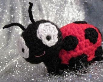 Lolly the Ladybug Amigurumi Crochet Pattern