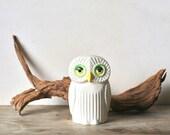 Vintage Ceramic Owl Bank Toscany japan