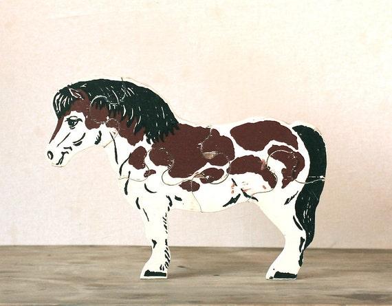 Circa 1950s Simplex Horse Puzzle