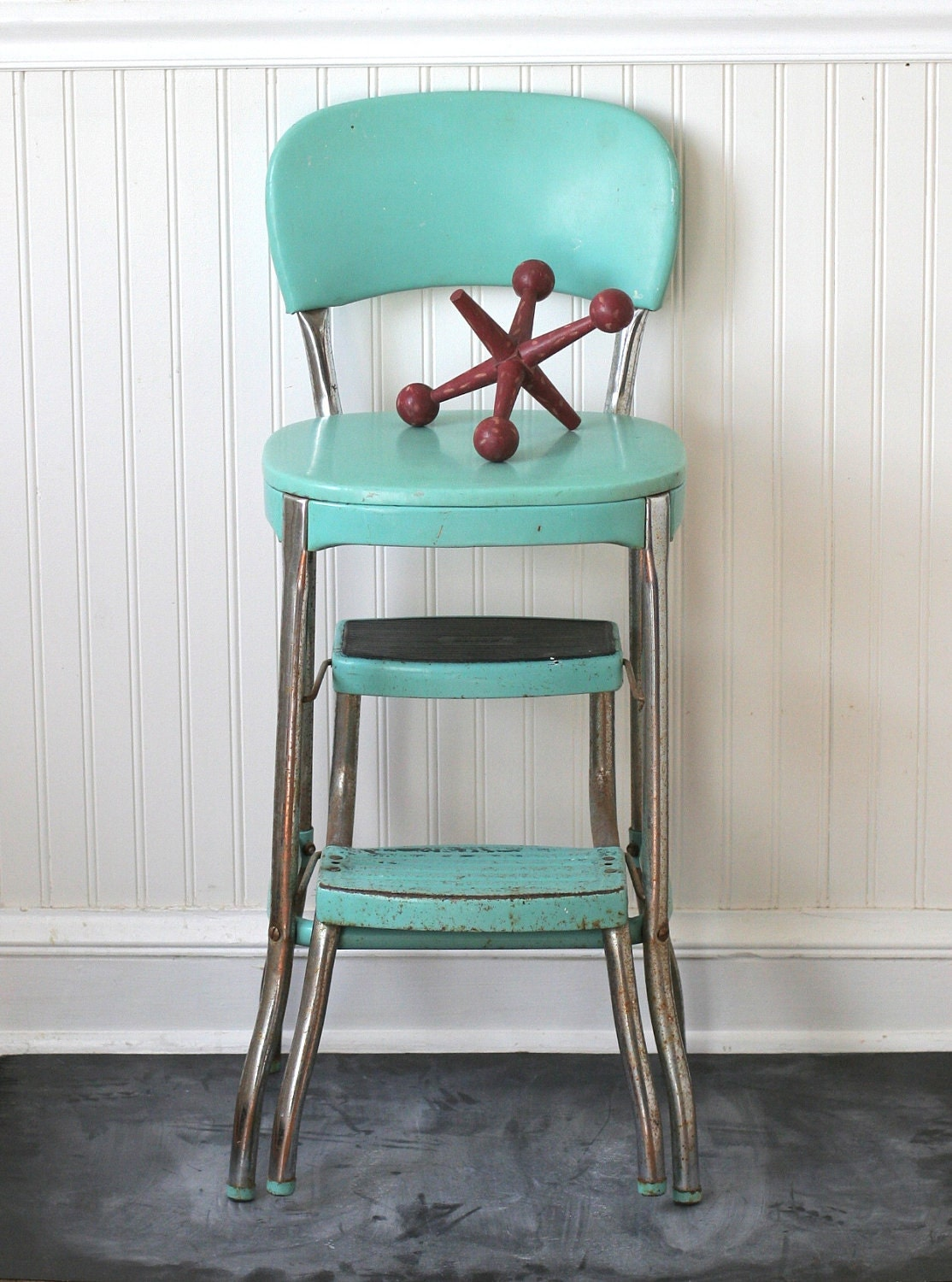 Circa 1950s Cosco Fold Out Step Stool Chair Aqua Turquoise : ilfullxfull332771940 from www.etsy.com size 1114 x 1500 jpeg 310kB