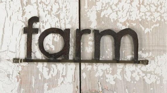 Decorative Wall Sign Farm Wall Sign Farm Sign